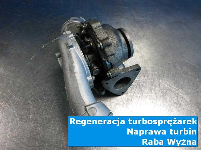 Turbosprężarka przed montażem w profesjonalnym serwisie w Rabie Wyżnej