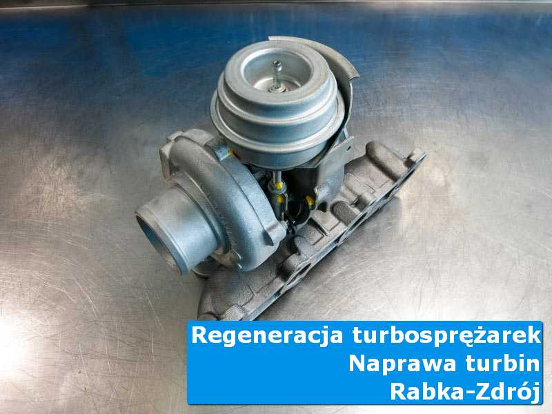 Układ turbodoładowania przed oddaniem do klienta w profesjonalnym serwisie z Rabki-Zdroju