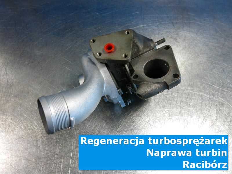 Układ turbodoładowania przed oddaniem do klienta u fachowców w Raciborzu