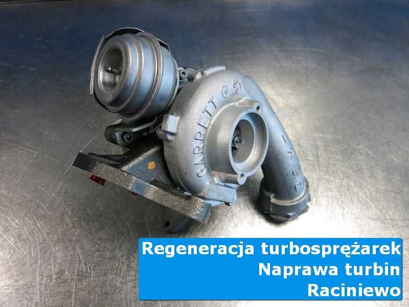Turbosprężarka przed montażem w profesjonalnym serwisie z Raciniewa