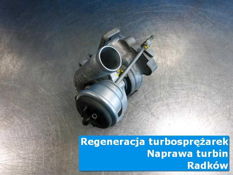 Układ turbodoładowania przed wysyłką w warsztacie w Radkowie