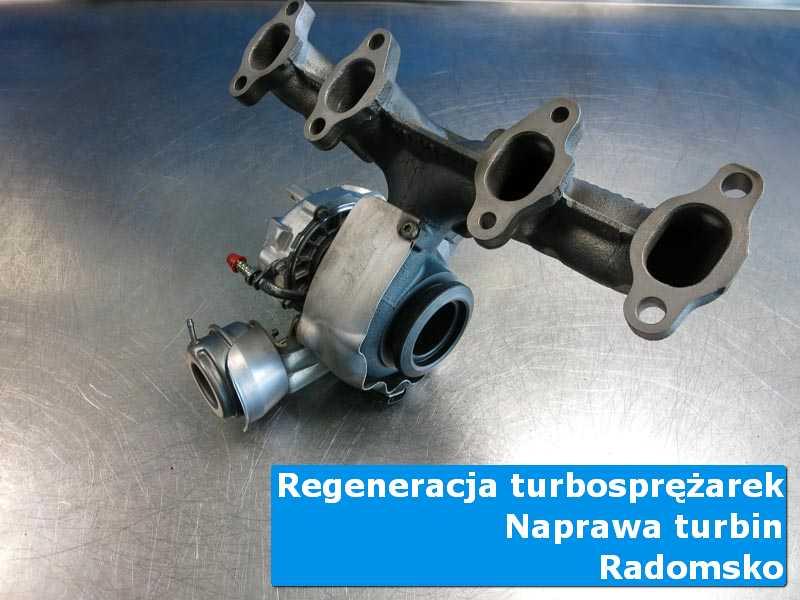 Układ turbodoładowania po naprawie w pracowni z Radomska
