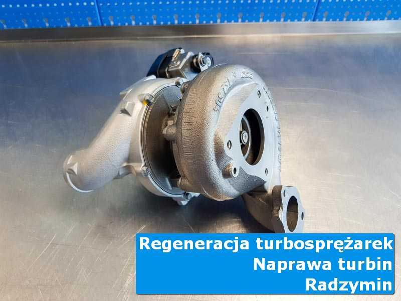 Układ turbodoładowania po naprawie w nowoczesnej pracowni w Radzyminie