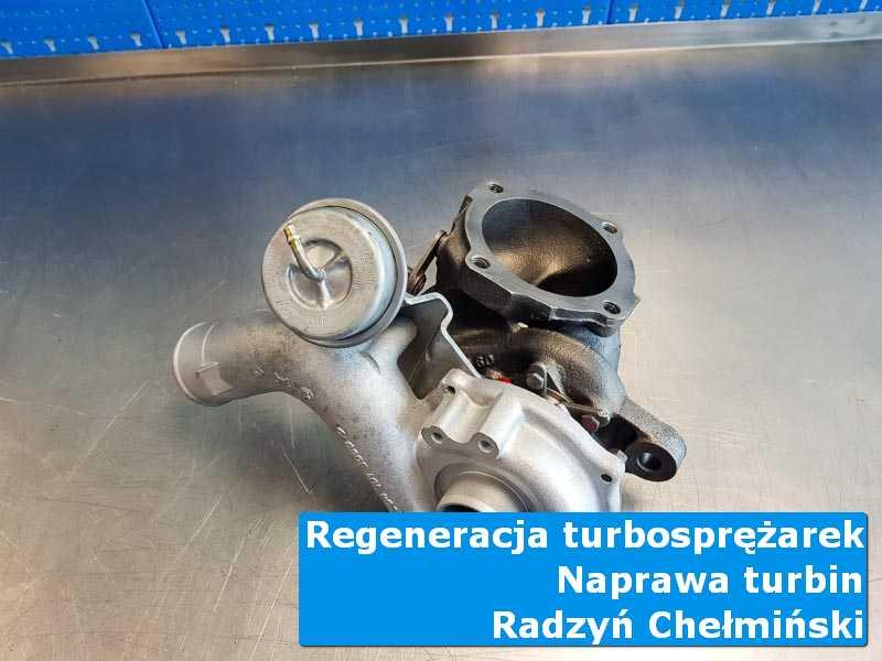 Układ turbodoładowania przed montażem w laboratorium w Radzyniu Chełmińskim