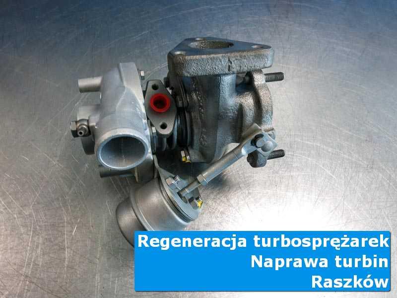 Turbosprężarka przed demontażem u fachowców w Raszkowie