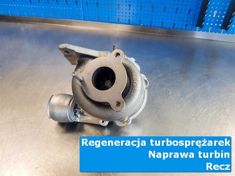 Układ turbodoładowania po przywróceniu sprawności w pracowni z Recza