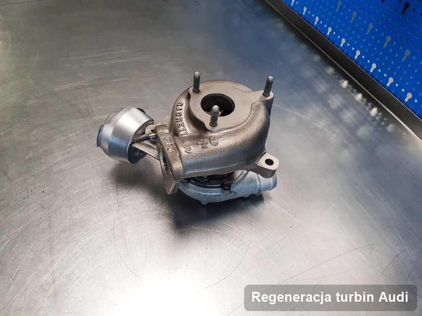 Turbina do diesla marki Audi zregenerowana w firmie gdzie realizuje się usługę Regeneracja turbin
