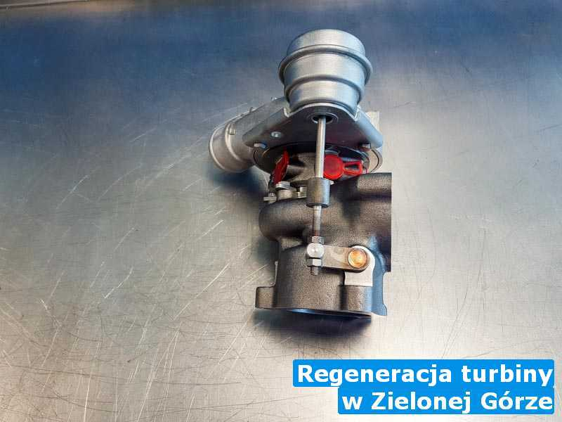 Turbosprężarka wysłana do zakładu pod Zieloną Górą - Regeneracja turbiny, Zielonej Górze
