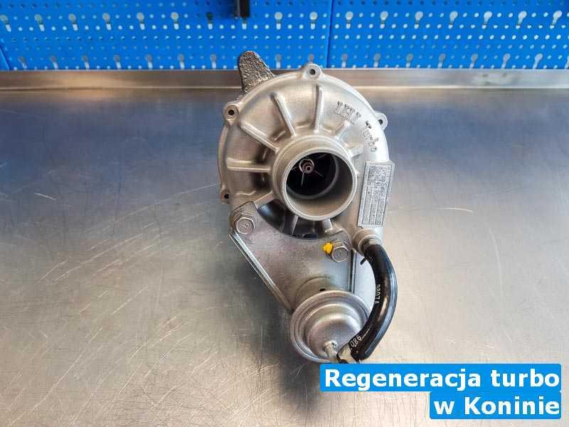 Turbina w pracowni regeneracji z Konina - Regeneracja turbo, Koninie