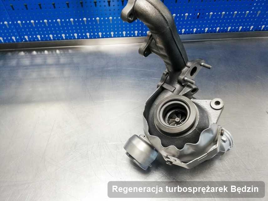 Turbo po zrealizowaniu usługi Regeneracja turbosprężarek w warsztacie w Będzinie działa jak nowa przed wysyłką