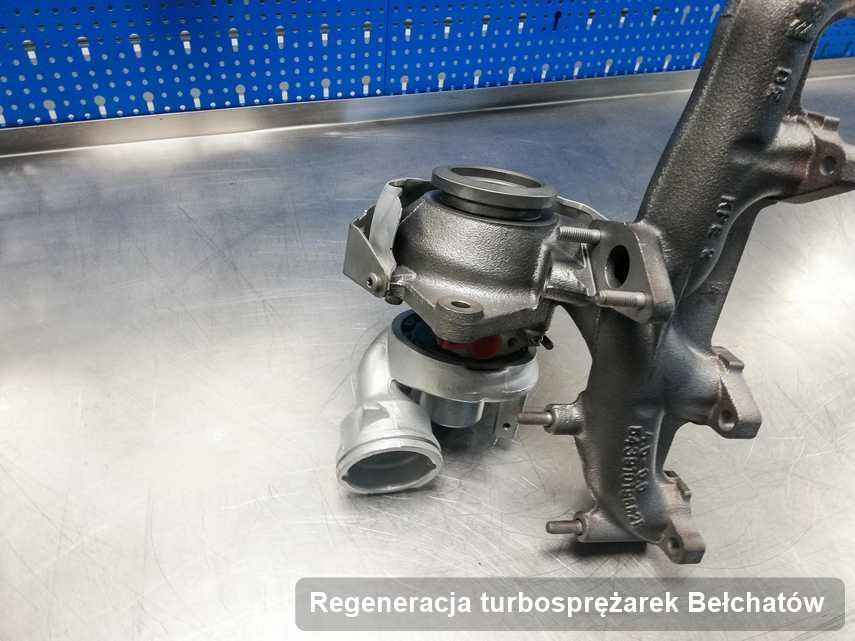 Turbo po wykonaniu zlecenia Regeneracja turbosprężarek w warsztacie z Bełchatowa w doskonałej kondycji przed wysyłką