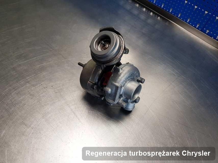 Turbosprężarka do osobówki marki Chrysler po remoncie w firmie gdzie zleca się usługę Regeneracja turbosprężarek