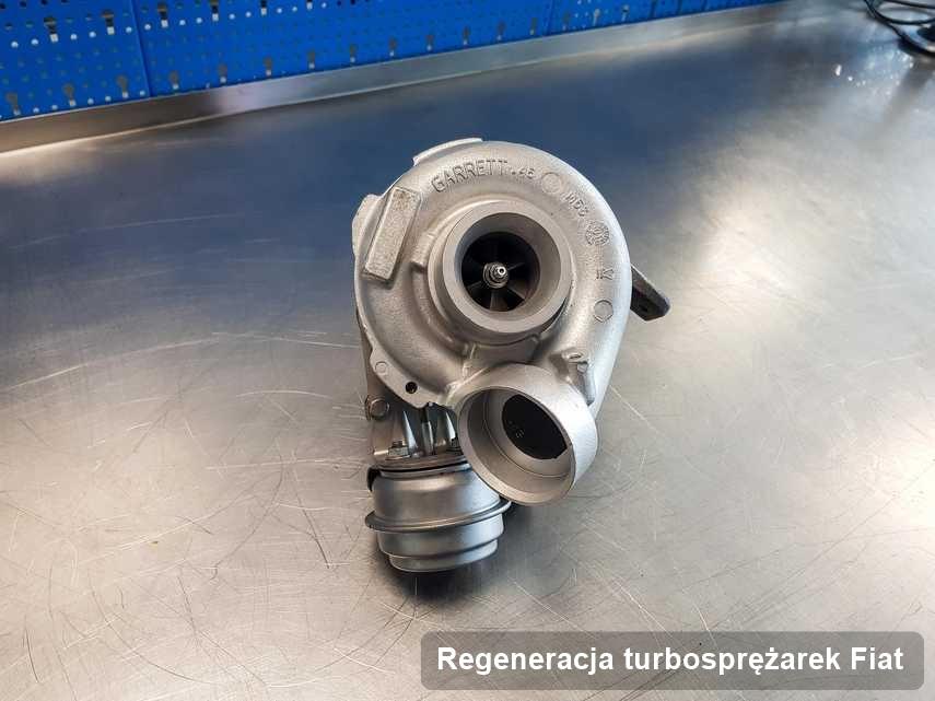 Turbosprężarka do auta firmy Fiat naprawiona w firmie gdzie realizuje się serwis Regeneracja turbosprężarek