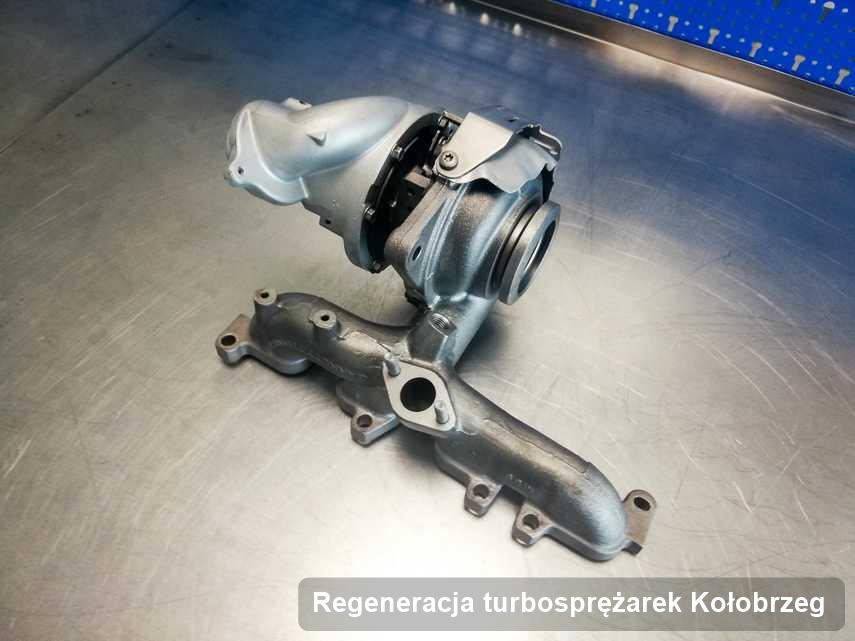 Turbosprężarka po realizacji zlecenia Regeneracja turbosprężarek w przedsiębiorstwie z Kołobrzegu działa jak nowa przed wysyłką