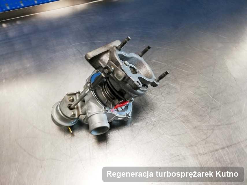 Turbina po realizacji zlecenia Regeneracja turbosprężarek w przedsiębiorstwie w Kutnie w świetnej kondycji przed wysyłką