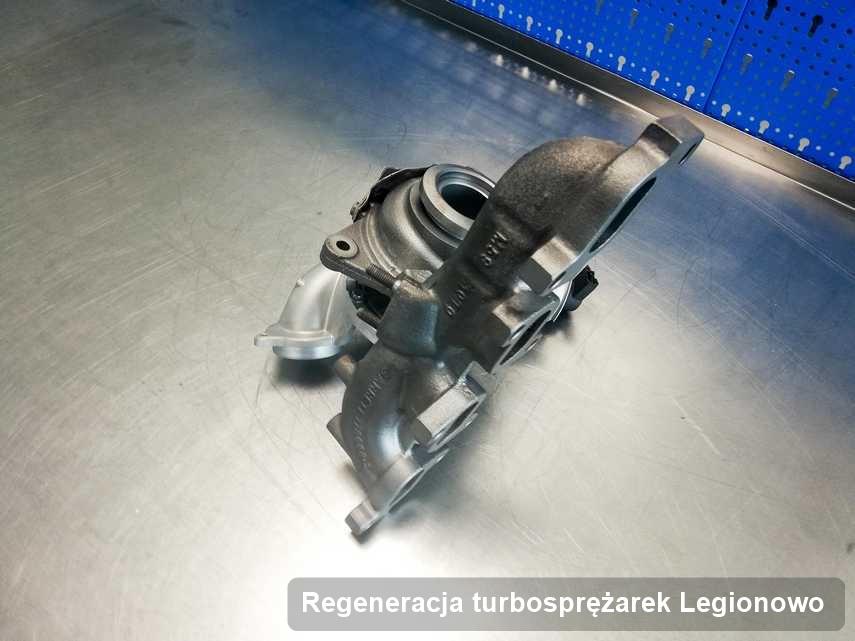 Turbosprężarka po realizacji usługi Regeneracja turbosprężarek w warsztacie w Legionowie z przywróconymi osiągami przed wysyłką