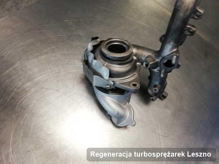 Turbosprężarka po realizacji zlecenia Regeneracja turbosprężarek w warsztacie w Lesznie w doskonałej jakości przed wysyłką