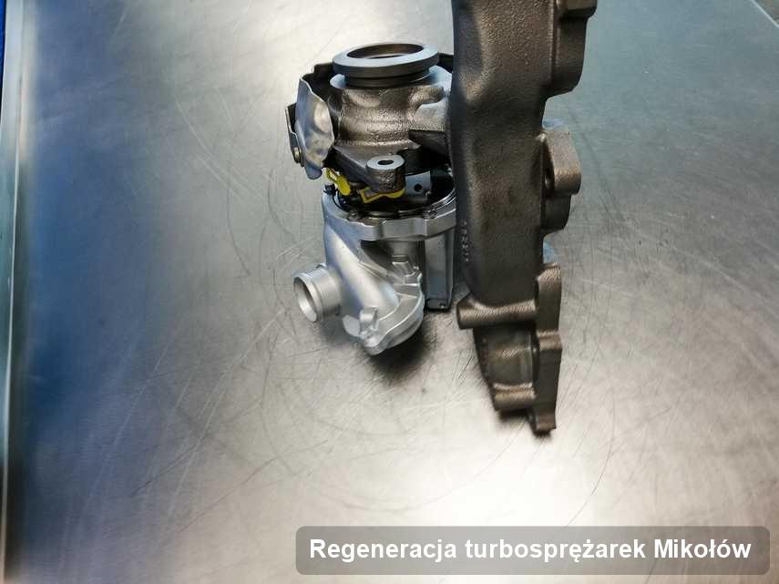Turbina po przeprowadzeniu usługi Regeneracja turbosprężarek w pracowni z Mikołowa w świetnej kondycji przed spakowaniem