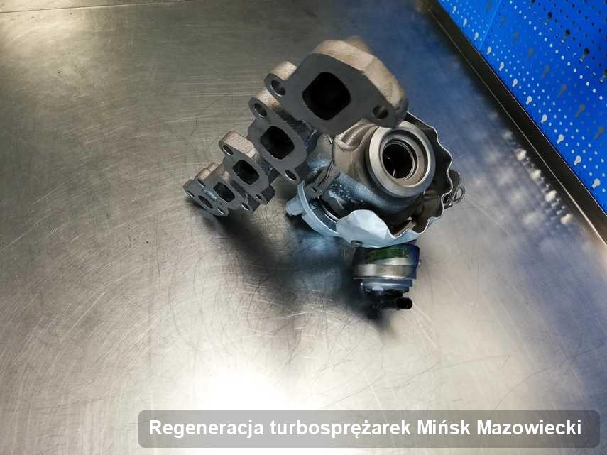 Turbosprężarka po przeprowadzeniu zlecenia Regeneracja turbosprężarek w firmie w Mińsku Mazowieckim z przywróconymi osiągami przed spakowaniem