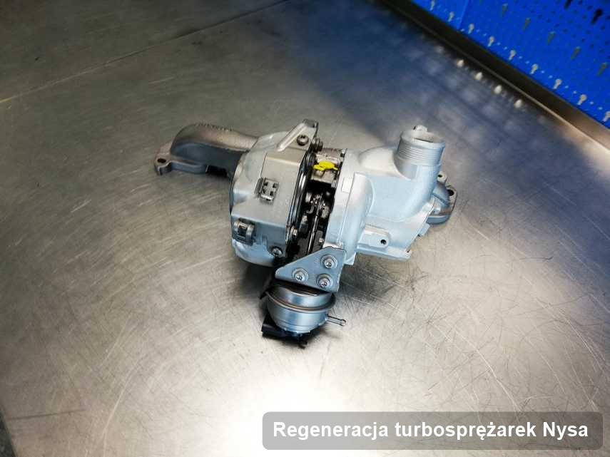 Turbosprężarka po przeprowadzeniu usługi Regeneracja turbosprężarek w warsztacie z Nysy w doskonałym stanie przed spakowaniem