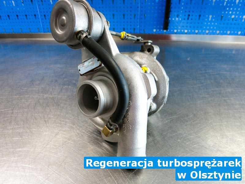 Turbo w pracowni w Olsztynie - Regeneracja turbosprężarek, Olsztynie
