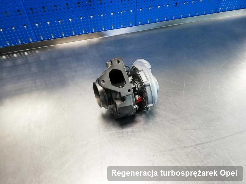 Turbina do auta producenta Opel naprawiona w pracowni gdzie zleca się usługę Regeneracja turbosprężarek