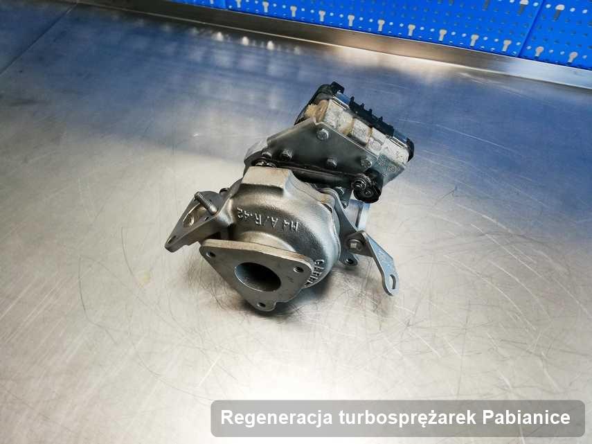 Turbo po realizacji zlecenia Regeneracja turbosprężarek w pracowni regeneracji w Pabianicach o parametrach jak nowa przed wysyłką
