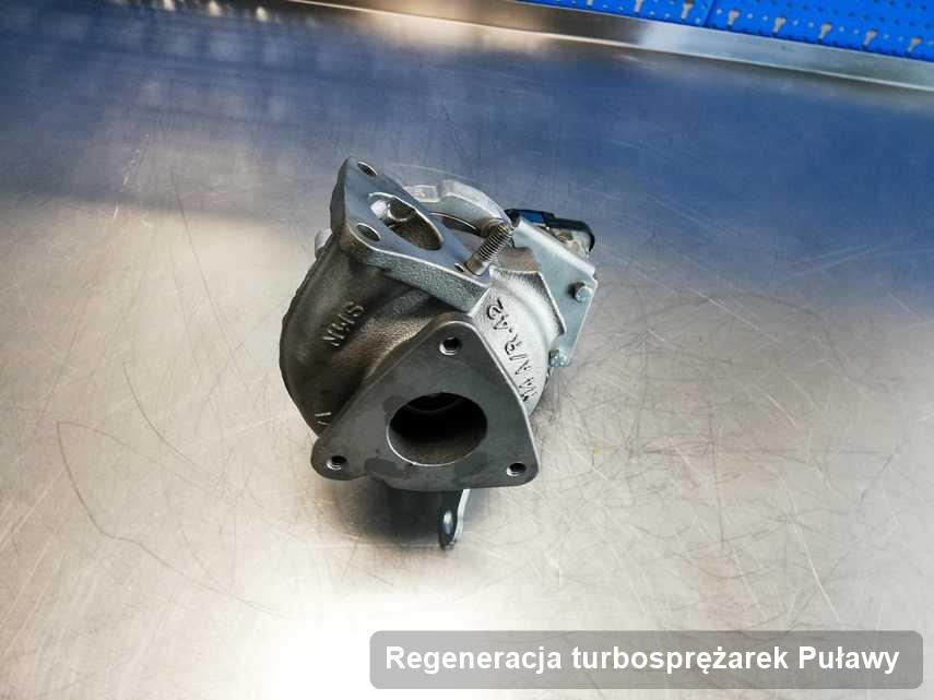 Turbo po realizacji zlecenia Regeneracja turbosprężarek w firmie z Puław z przywróconymi osiągami przed wysyłką