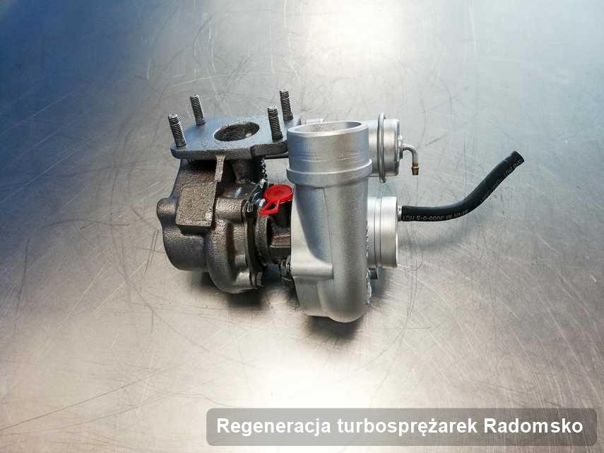 Turbo po wykonaniu serwisu Regeneracja turbosprężarek w pracowni z Radomska działa jak nowa przed wysyłką