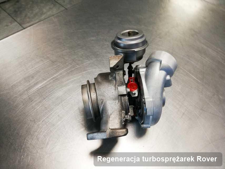 Turbina do osobówki spod znaku Rover po naprawie w pracowni gdzie zleca się serwis Regeneracja turbosprężarek