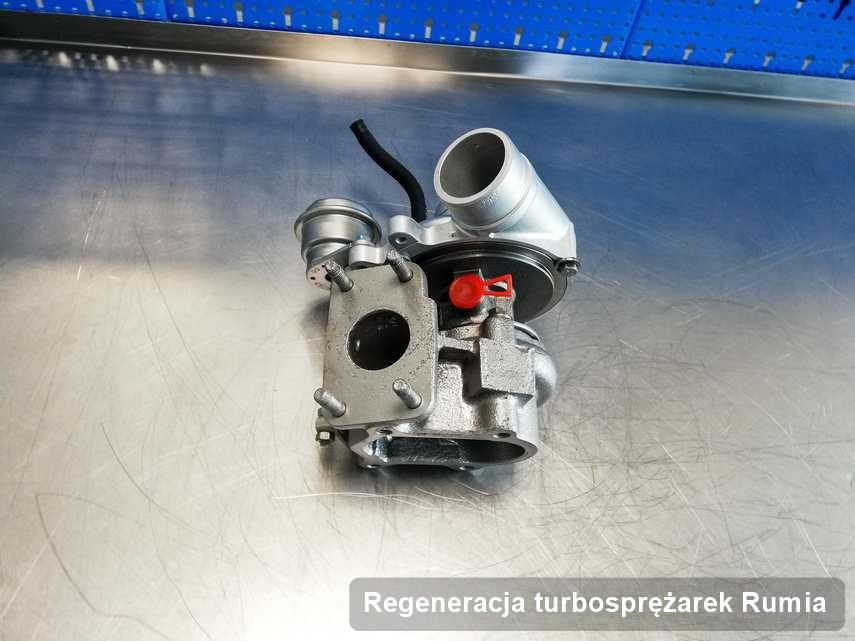Turbosprężarka po wykonaniu usługi Regeneracja turbosprężarek w przedsiębiorstwie z Rumii o osiągach jak nowa przed spakowaniem