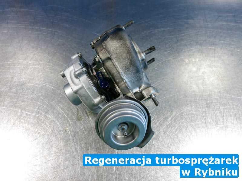 Turbiny w pracowni pod Rybnikiem - Regeneracja turbosprężarek, Rybniku