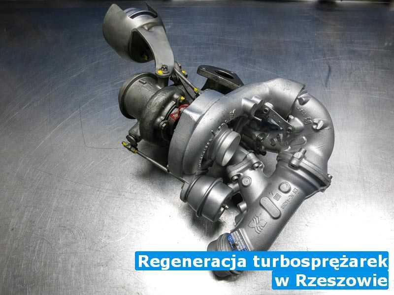 Turbina dostarczona do warsztatu w Rzeszowie - Regeneracja turbosprężarek, Rzeszowie