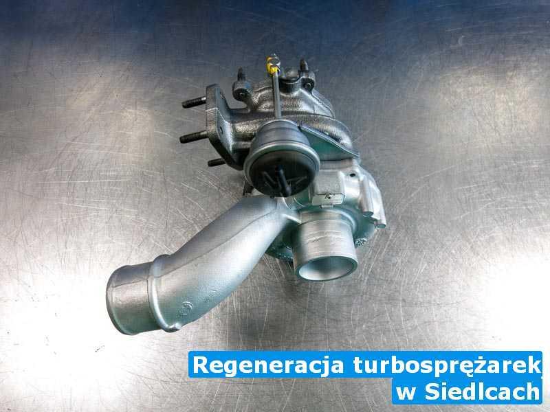 Turbosprężarki na stole z Siedlec - Regeneracja turbosprężarek, Siedlcach