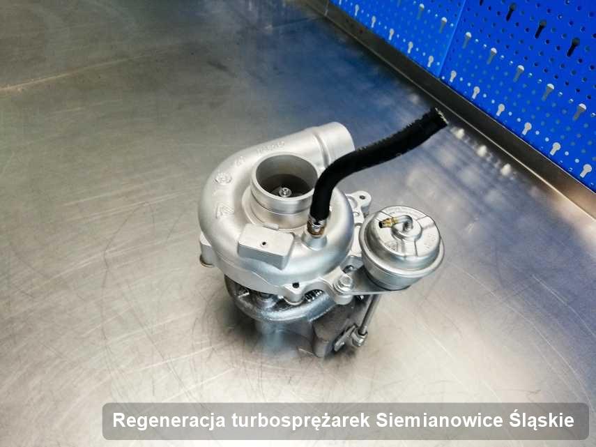 Turbosprężarka po wykonaniu zlecenia Regeneracja turbosprężarek w firmie w Siemianowicach Śląskich w doskonałej kondycji przed wysyłką