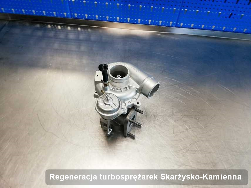 Turbina po wykonaniu zlecenia Regeneracja turbosprężarek w przedsiębiorstwie z Skarżyska-Kamiennej działa jak nowa przed wysyłką