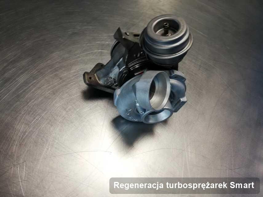 Turbina do osobówki spod znaku Smart naprawiona w laboratorium gdzie zleca się usługę Regeneracja turbosprężarek