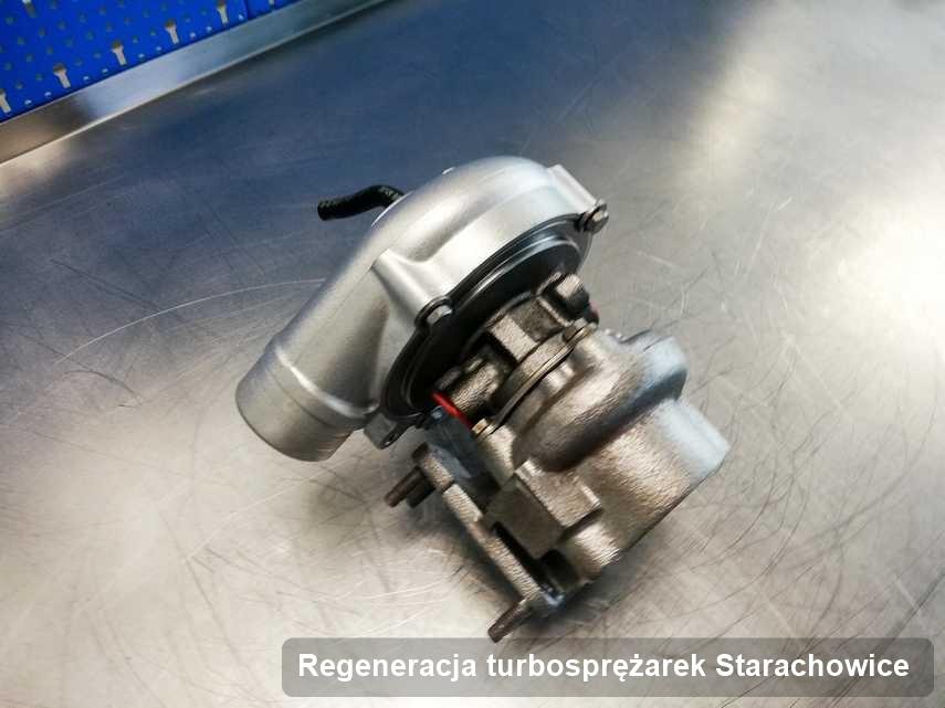 Turbosprężarka po przeprowadzeniu serwisu Regeneracja turbosprężarek w przedsiębiorstwie z Starachowic w świetnej kondycji przed wysyłką