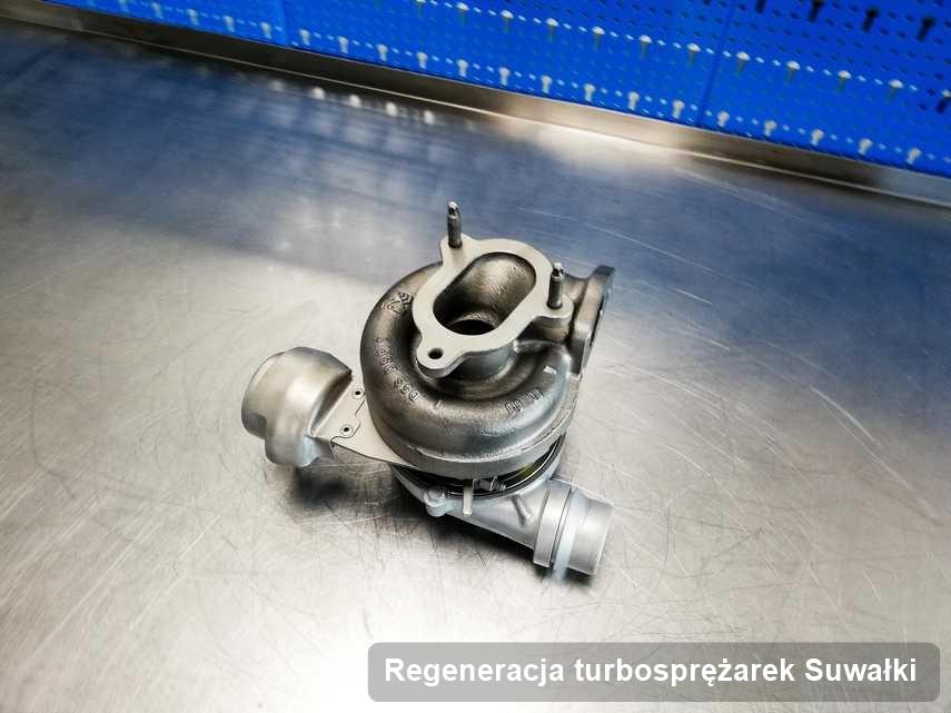 Turbo po zrealizowaniu zlecenia Regeneracja turbosprężarek w przedsiębiorstwie z Suwałk w niskiej cenie przed spakowaniem