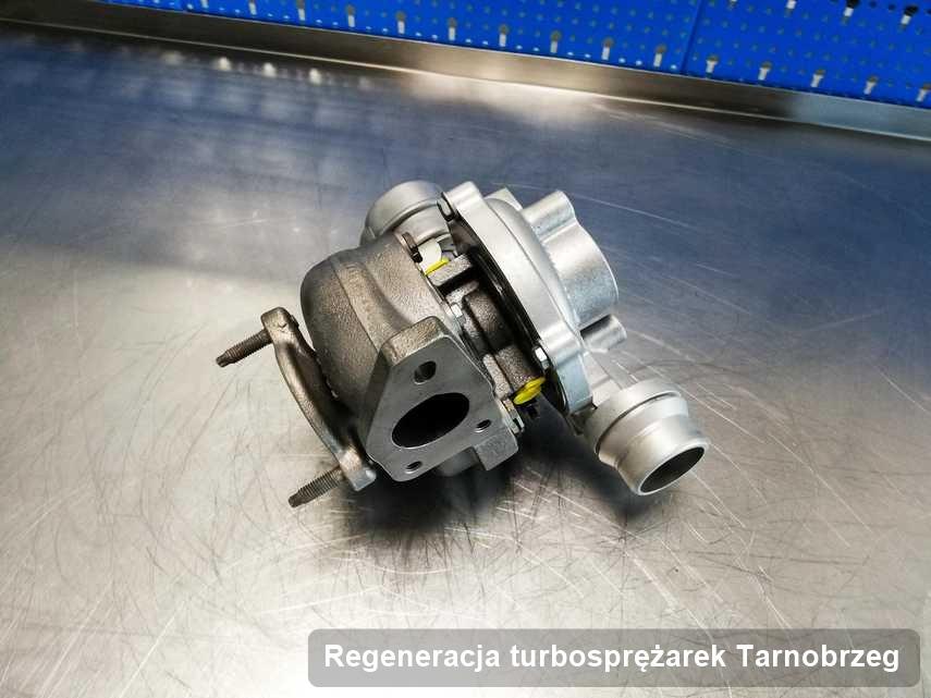 Turbosprężarka po zrealizowaniu zlecenia Regeneracja turbosprężarek w warsztacie w Tarnobrzegu w doskonałym stanie przed wysyłką