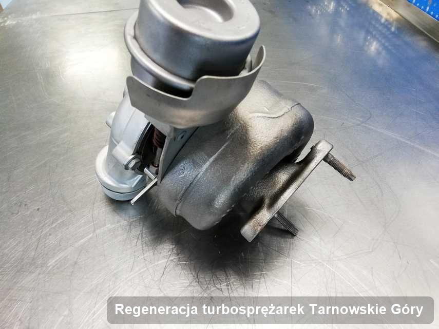 Turbo po zrealizowaniu serwisu Regeneracja turbosprężarek w warsztacie w Tarnowskich Górach w świetnej kondycji przed wysyłką