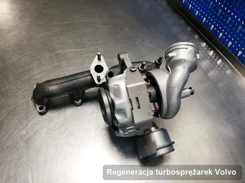 Turbina do samochodu producenta Volvo naprawiona w przedsiębiorstwie gdzie realizuje się usługę Regeneracja turbosprężarek