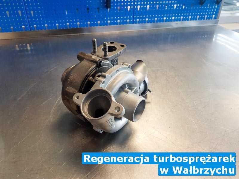 Turbina w pracowni regeneracji w Wałbrzychu - Regeneracja turbosprężarek, Wałbrzychu