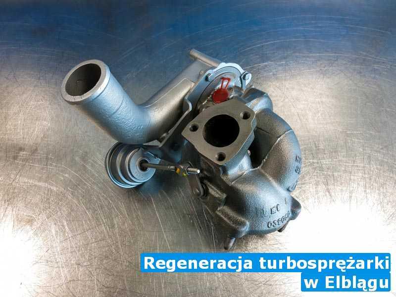 Turbina dostarczona do warsztatu pod Elblągiem - Regeneracja turbosprężarki, Elblągu