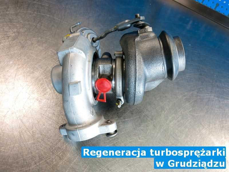 Turbina zrobiona z Grudziądza - Regeneracja turbosprężarki, Grudziądzu