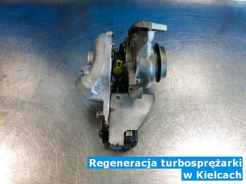 Turbiny przed montażem pod Kielcami - Regeneracja turbosprężarki, Kielcach