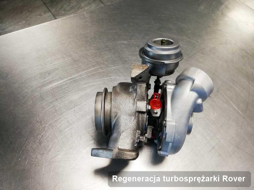 Turbosprężarka do auta marki Rover wyczyszczona w laboratorium gdzie wykonuje się usługę Regeneracja turbosprężarki