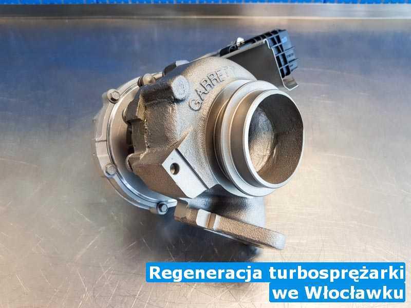 Turbina regulowana z Włocławka - Regeneracja turbosprężarki, Włocławku