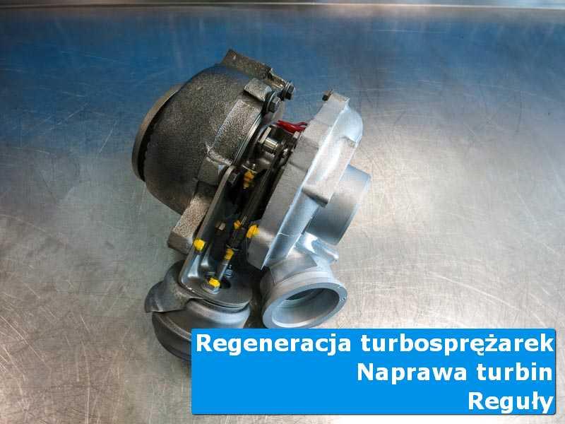 Układ turbodoładowania po naprawie w profesjonalnym serwisie w Regułach