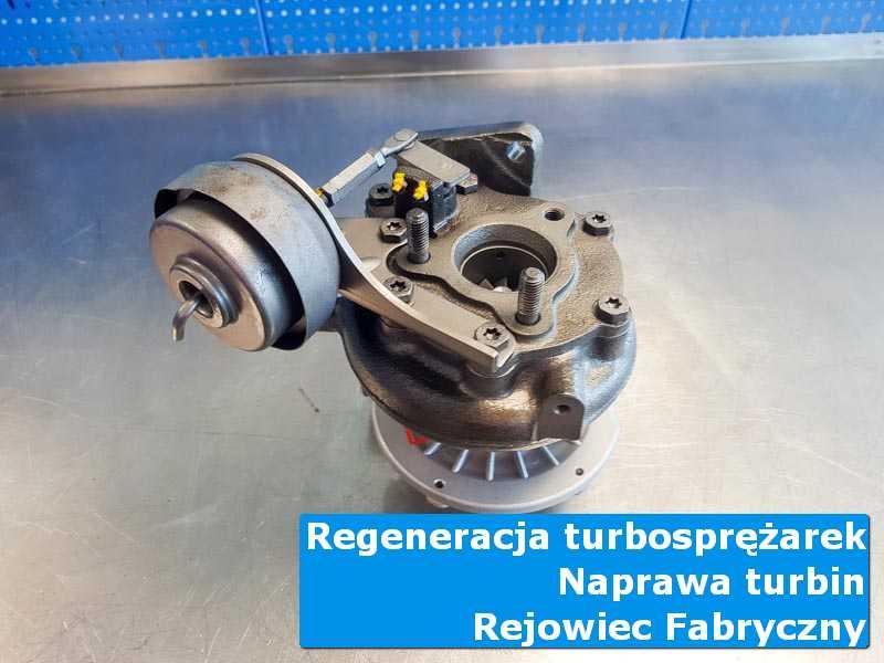 Układ turbodoładowania po wyważaniu w autoryzowanym serwisie w Rejowcu Fabrycznemu